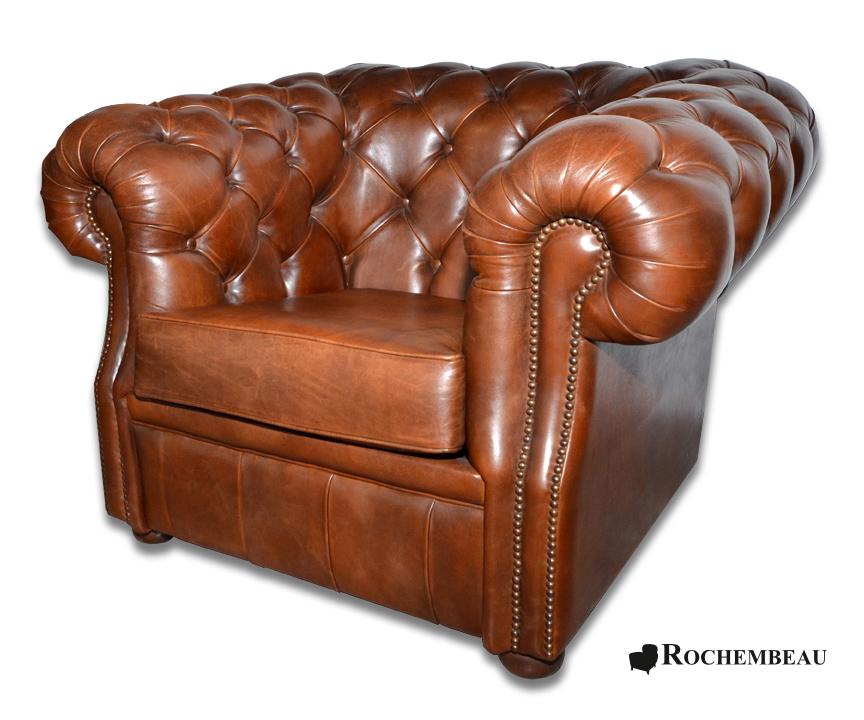 Fauteuil club chesterfield fauteuil chesterfield en cuir for Les fauteuils en cuir