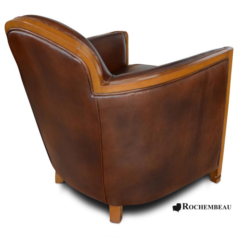 fauteuil club cardigan fauteuils club en cuir pleine fleur cuir de mouton basane. Black Bedroom Furniture Sets. Home Design Ideas