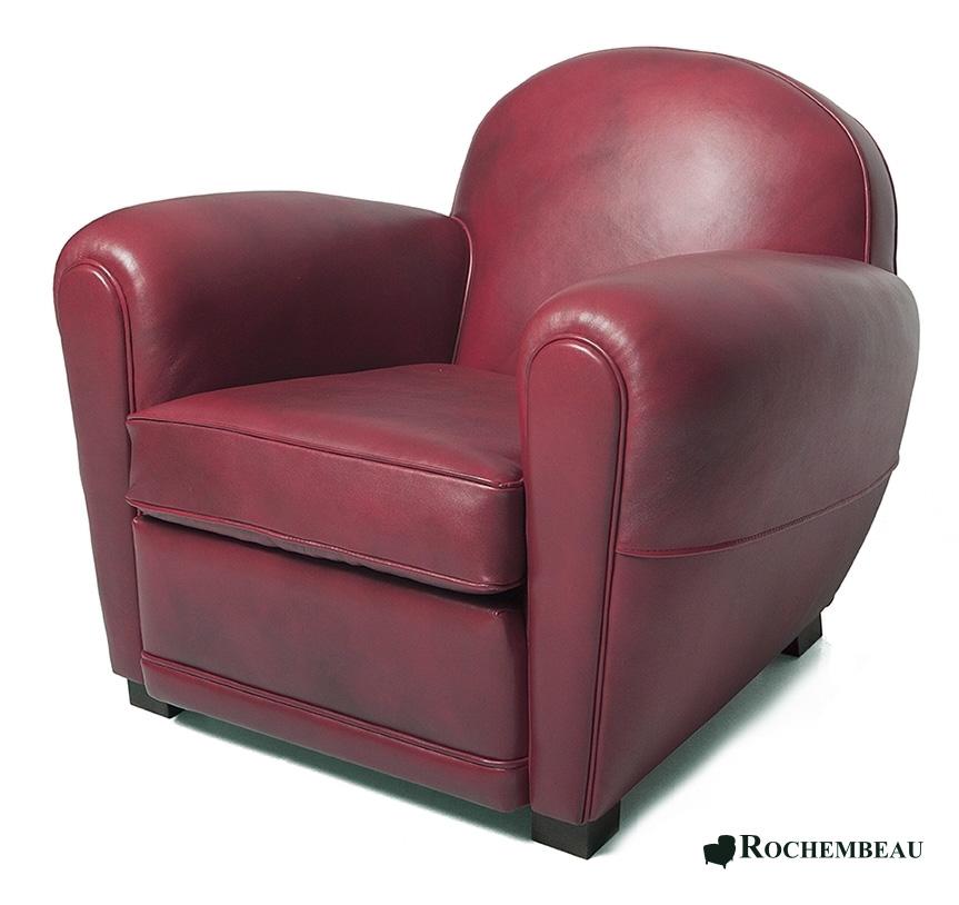 fauteuil club darlington fauteuil club en cuir basane. Black Bedroom Furniture Sets. Home Design Ideas