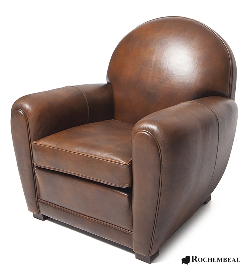 fauteuil club newquay fauteuil club en cuir basane rochembeau. Black Bedroom Furniture Sets. Home Design Ideas