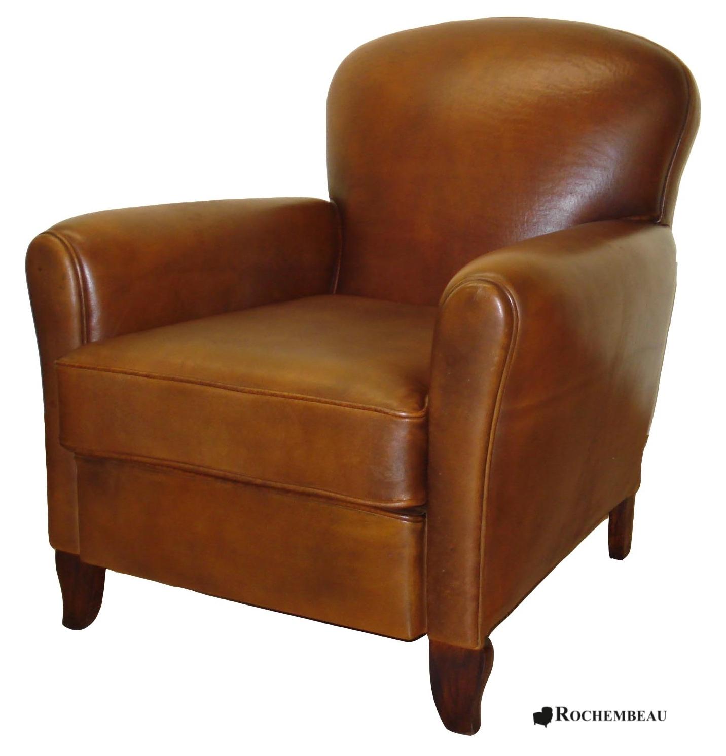 fauteuil club portsmouth fauteuil club en cuir basane. Black Bedroom Furniture Sets. Home Design Ideas