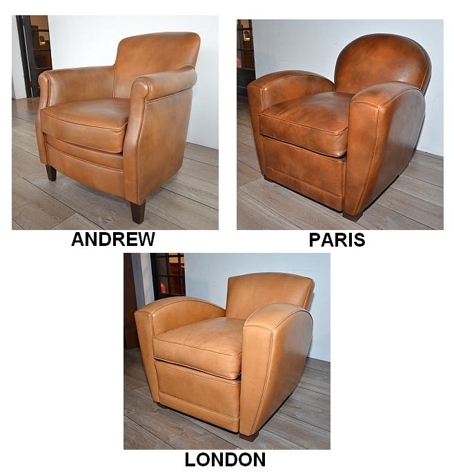 les fauteuils club paris london andrew - Fauteuil Club Paris