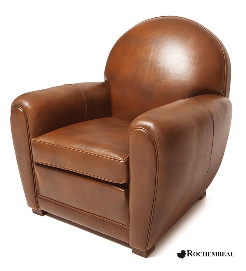 Fauteuil club newquay fauteuil club en cuir basane rochembeau - Fauteuil club cuir marron ...