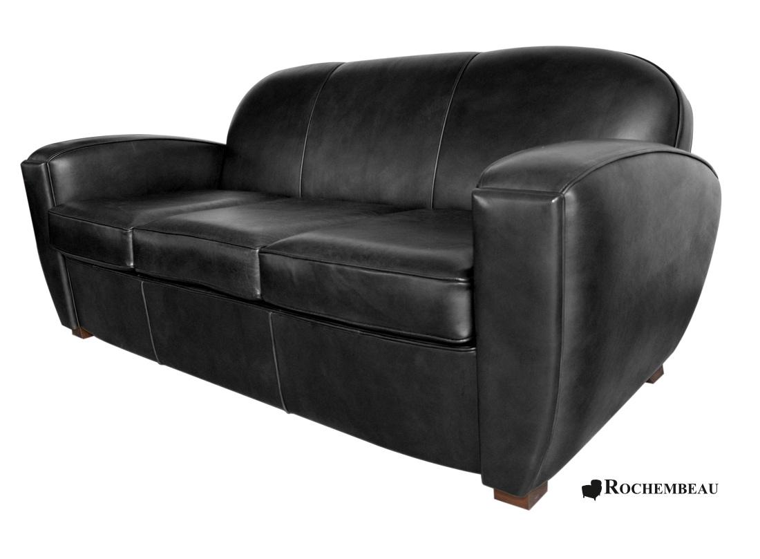 canap club boston canap club en cuir profond. Black Bedroom Furniture Sets. Home Design Ideas