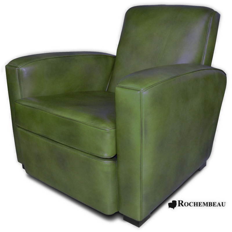 fauteuil club bolton fauteuil club en cuir basane pleine fleur. Black Bedroom Furniture Sets. Home Design Ideas
