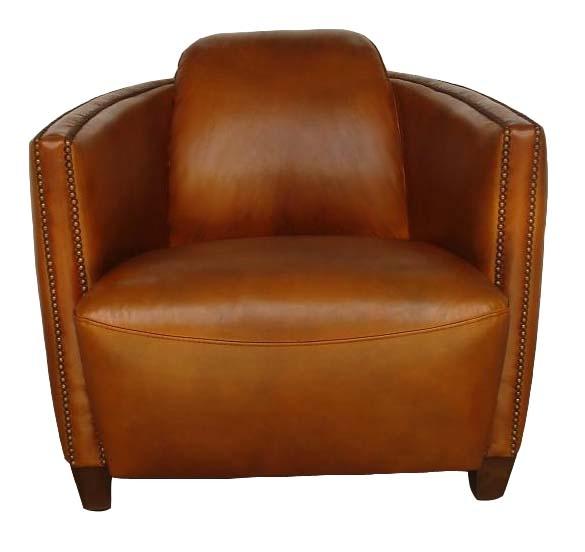 Fauteuil club bateau cigare fauteuils club en cuir pleine fleur cuir de mo - Fauteuil club cigare ...