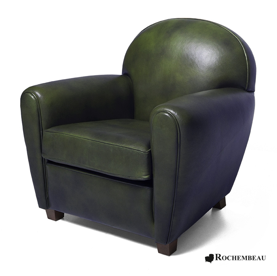 petit fauteuil club new york petit si ge club en cuir de. Black Bedroom Furniture Sets. Home Design Ideas