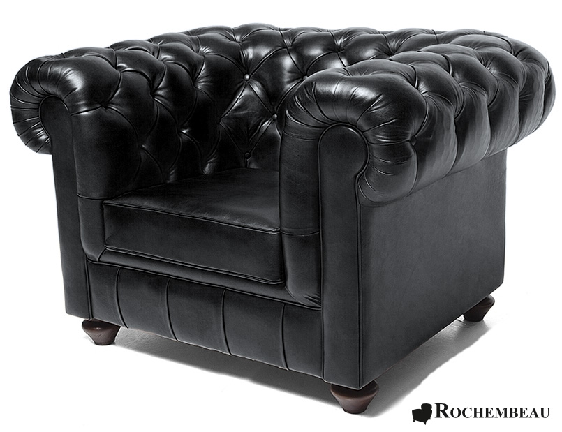 fauteuil chesterfield chester tissu