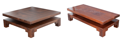 table basse salon sur-mesure