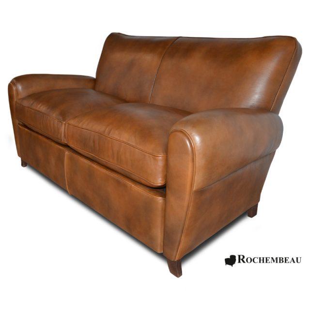 canap s club salon club en cuir pleine fleur cuir de. Black Bedroom Furniture Sets. Home Design Ideas