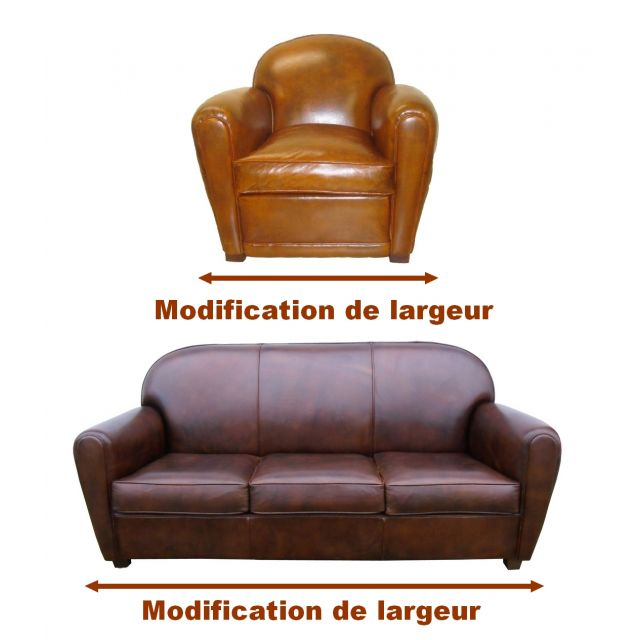 "Modification de largeur ""sur mesure"""
