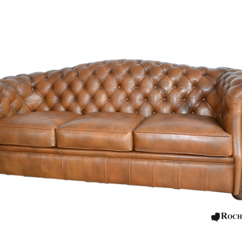 Canapé Chesterfield COOK Dossier Rond
