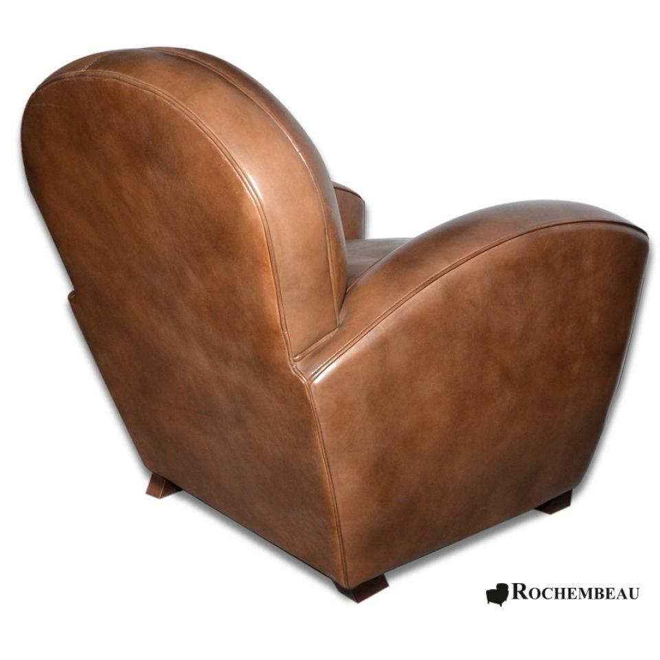 fauteuil club paris fauteuil club en cuir basane mouton rochembeau. Black Bedroom Furniture Sets. Home Design Ideas