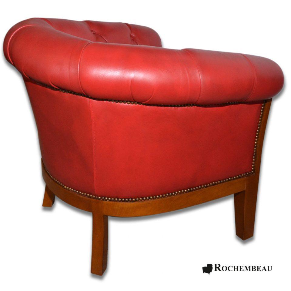 fauteuil club preston fauteuil club cuir de basane pleine fleur mouton. Black Bedroom Furniture Sets. Home Design Ideas