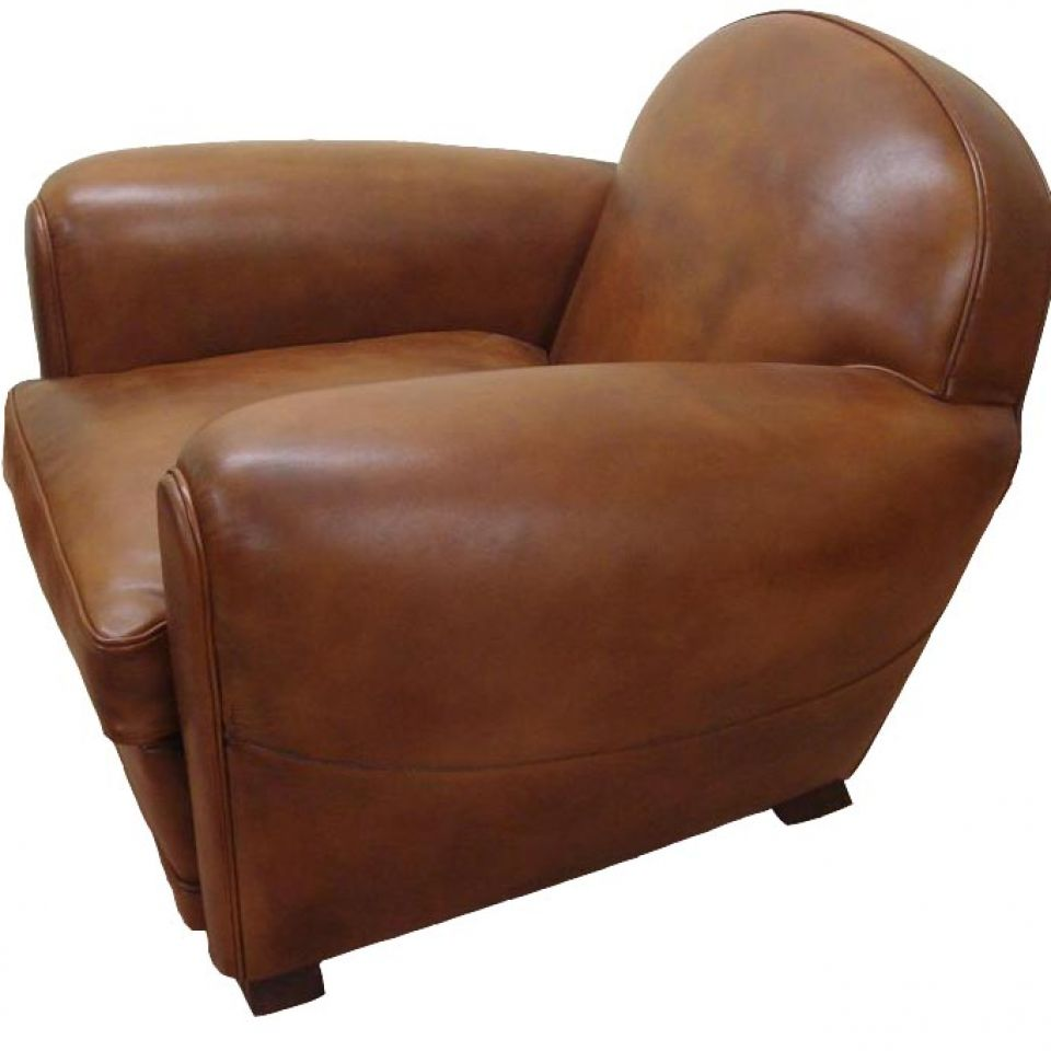 fauteuil club darlington fauteuil club en cuir basane rochembeau. Black Bedroom Furniture Sets. Home Design Ideas
