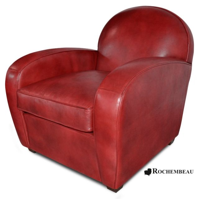 fauteuil club chelsea fauteuil club en cuir basane rochembeau. Black Bedroom Furniture Sets. Home Design Ideas