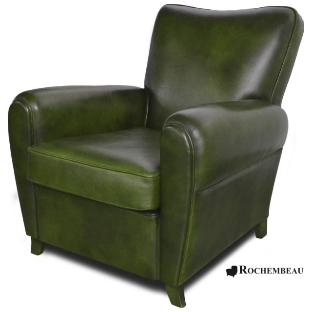fauteuil club sheffield fauteuil club en cuir basane rochembeau. Black Bedroom Furniture Sets. Home Design Ideas