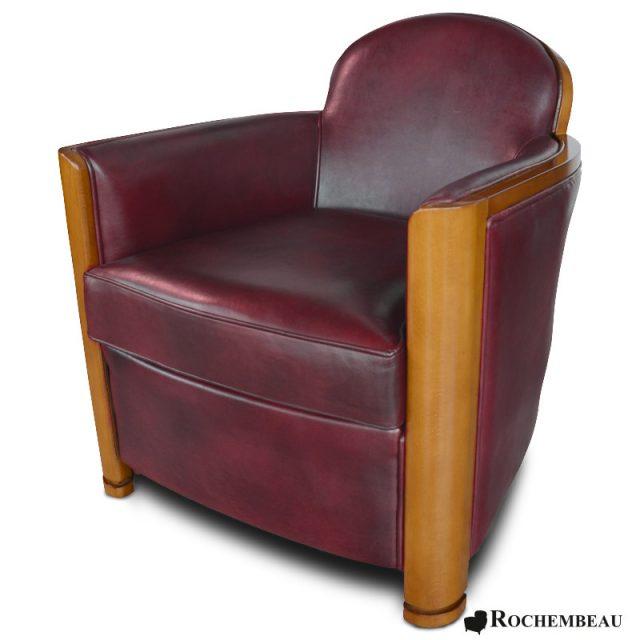 fauteuil club cardigan fauteuil club en cuir basane mouton rochembeau. Black Bedroom Furniture Sets. Home Design Ideas