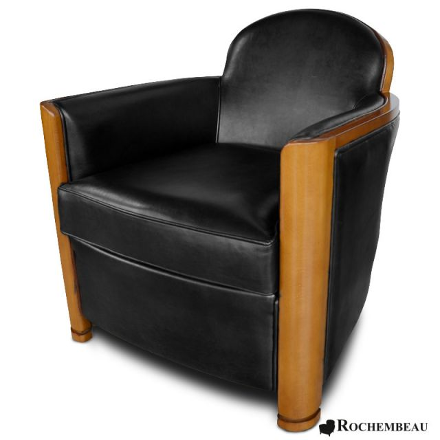 fauteuil club cardigan fauteuil club en cuir basane. Black Bedroom Furniture Sets. Home Design Ideas