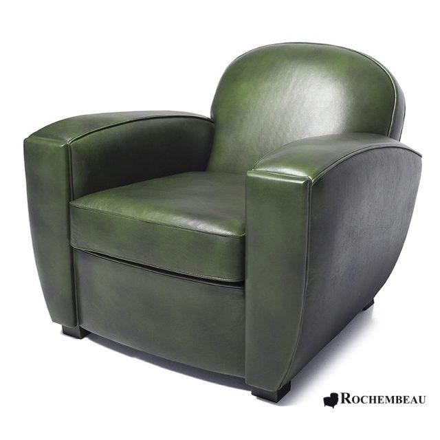 Fauteuil club forme cubique en cuir fauteuil club carr en cuir - Fauteuil club anglais ...