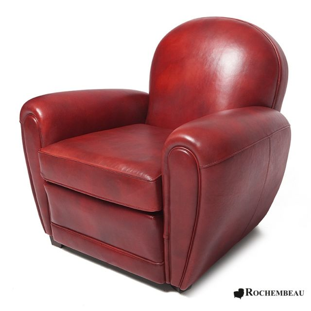 fauteuil club bradford grand fauteuil club en cuir. Black Bedroom Furniture Sets. Home Design Ideas