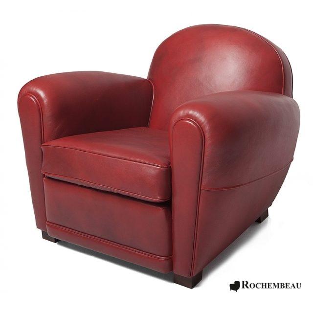 Fauteuil club darlington fauteuil club en cuir basane rochembeau - Fauteuil club original ...