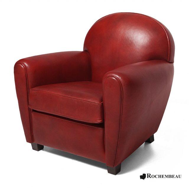 petit fauteuil club new york petit si ge club en cuir de mouton. Black Bedroom Furniture Sets. Home Design Ideas